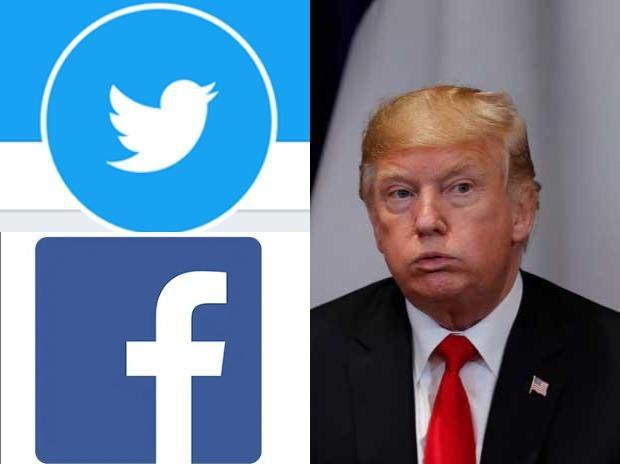 Facebook, Twitter đồng loạt khóa tài khoản của Tổng thống Mỹ Donald Trump - Ảnh 1.