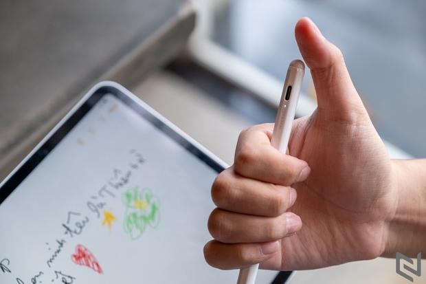 Mua thử bản dupe Apple Pen giá chỉ 400k: Rẻ bằng 1/10 nhưng ok bất ngờ, vẽ chơi hay ghi chú đều ngon - Ảnh 6.
