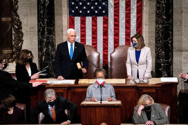 CHÍNH THỨC: Quốc hội Mỹ xác nhận ông Joe Biden là Tổng thống - Ảnh 1.
