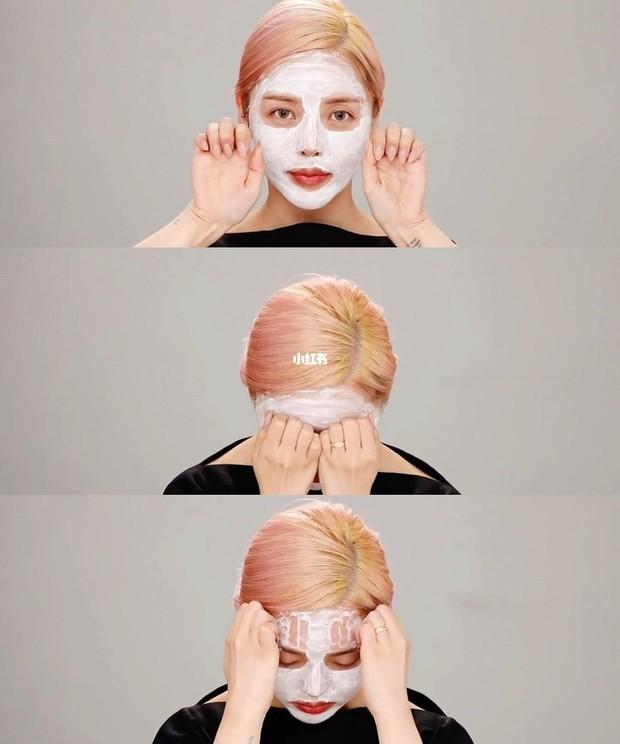 Pony Makeup hướng dẫn cách massage giúp nâng cơ và giảm nếp nhăn, thực hiện siêu tiện ngay trong lúc rửa mặt - Ảnh 3.