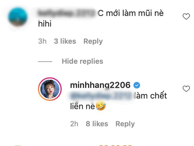 Bị netizen nghi dao kéo chiếc mũi giả trân, Minh Hằng thề độc ngay thay cho lời đáp trả - Ảnh 4.