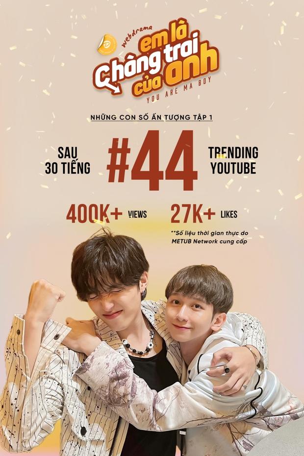 500 anh em quốc tế chấm OST Em Là Chàng Trai Của Anh hay nhất làng đam mỹ, còn quay clip hú hét vì cẩu lương của cặp CoDu - Ảnh 1.