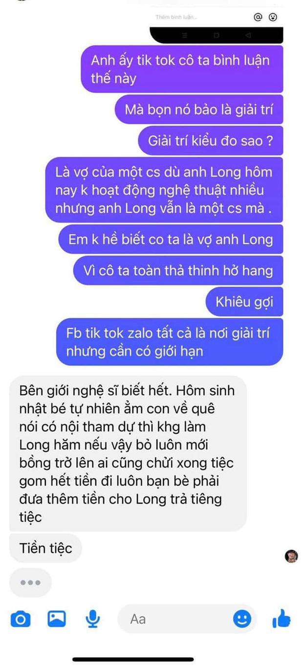 Ca sĩ Thanh Thảo tố vợ Vân Quang Long xúc phạm chồng và gia đình - Ảnh 3.