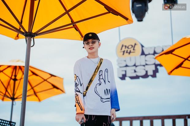 Trước giờ G: Jack ăn vận siêu đáng yêu tổng duyệt HOT14 WOW Sunset Fest, Anh Tú - Lyly hát tập thôi mà tình cảm thế này? - Ảnh 7.