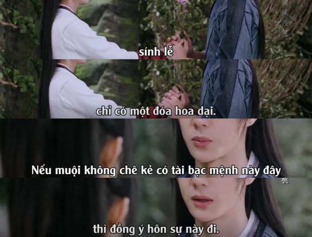 Sau nụ hôn xẹt điện 5 giây, Vương Nhất Bác chính thức cầu hôn Triệu Lệ Dĩnh ở Hữu Phỉ tập 42 - Ảnh 22.
