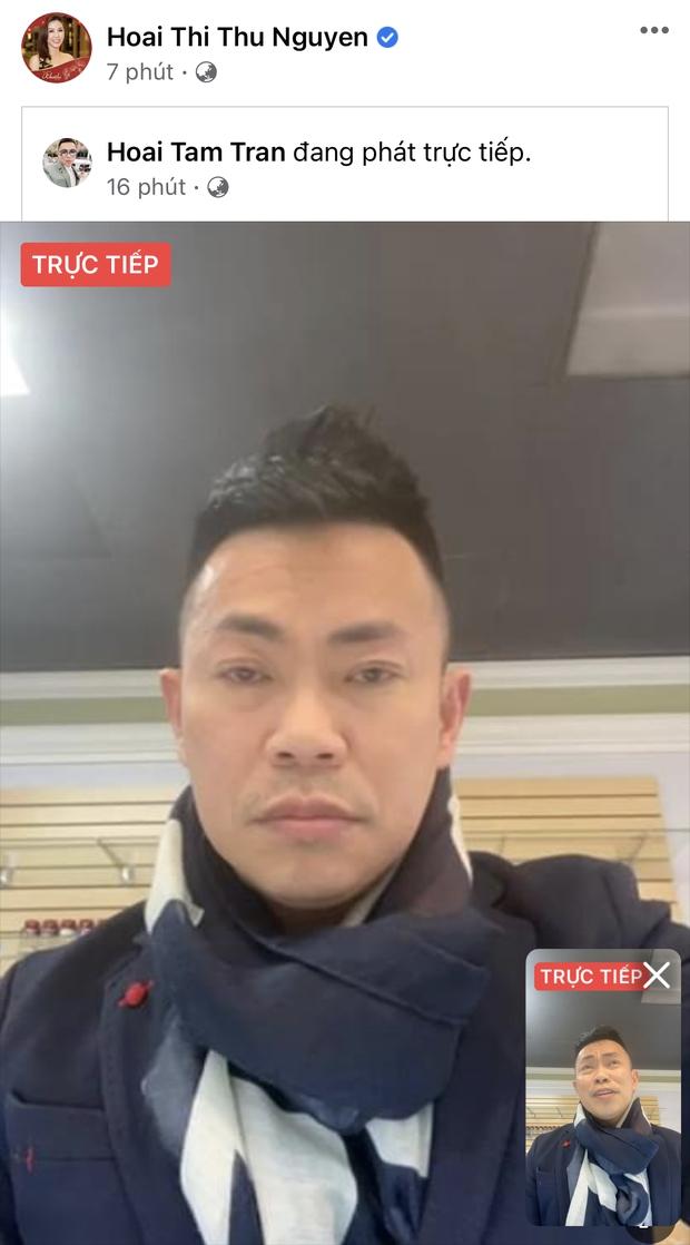 Nóng: Hoài Tâm livestream bác bỏ 3 thông tin sai lệch, đấu tố chồng Thu Phương cực căng chuyện đón thi hài cố NS Chí Tài ở Mỹ - Ảnh 6.