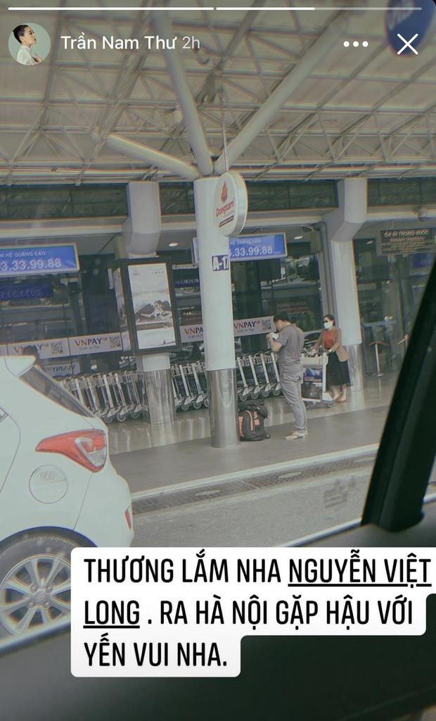 Nam Thư tiết lộ Mũi trưởng Long sắp đáp Hà Nội thăm Hậu Hoàng, Dương Hoàng Yến - Ảnh 1.