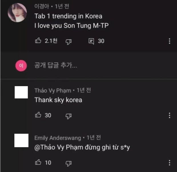 Knet tố cáo fan Việt giả làm người Hàn Quốc để bình luận hết sức giả trân dưới MV Hãy Trao Cho Anh của Sơn Tùng M-TP? - Ảnh 4.