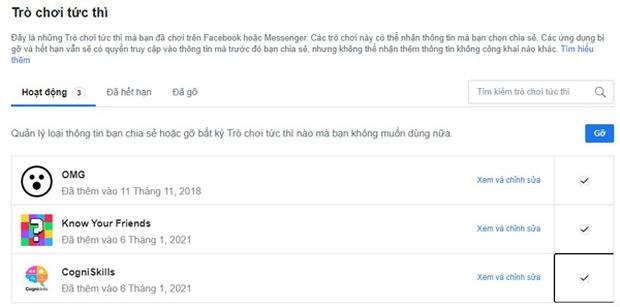 Thận trọng với những game trắc nghiệm dạo trên Facebook - Ảnh 2.