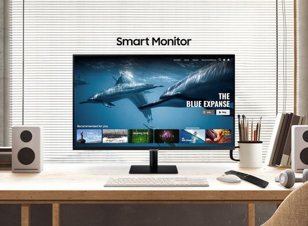 Samsung ra mắt màn hình thông minh M5 và M7: Có thể hoạt động độc lập không cần PC, chạy Tizen OS, độ phân giải 4K, giá từ 230 USD - Ảnh 1.