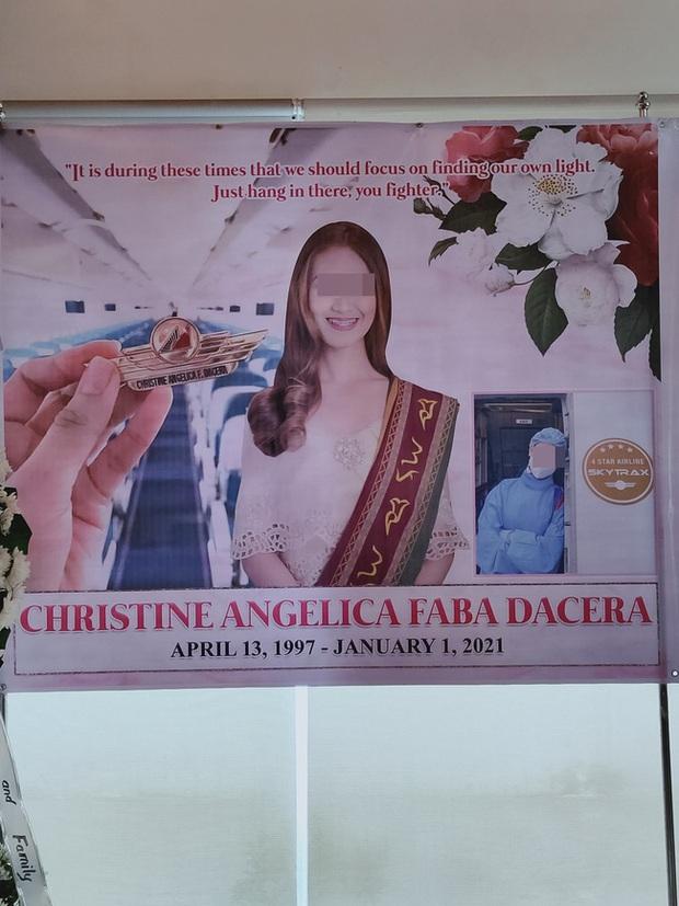 Tang lễ của Á hậu Philippines diễn ra trầm lắng tại quê nhà, rò rỉ hình ảnh bồn tắm được cho là nơi nạn nhân tử vong - Ảnh 1.