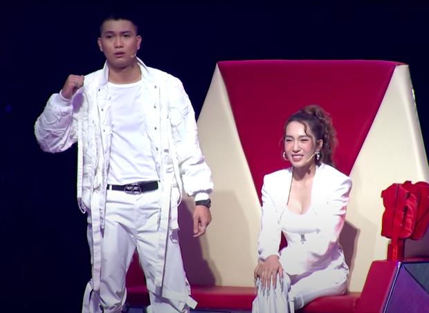 MC ILL chiêu dụ thí sinh cực căng tại Giọng Hát Việt Nhí: Con về đội chú sau này rap Việt không ai dám động vào con - Ảnh 1.
