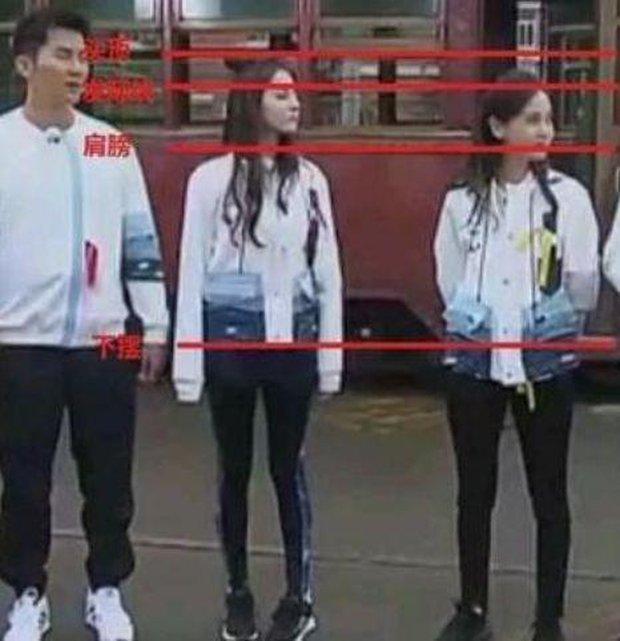 Dương Mịch nhận 1m66, Angela Baby lẫn Nhiệt Ba đều 1m68, nhưng nhìn loạt ảnh bằng chứng sẽ biết ngay ai khai gian - Ảnh 10.