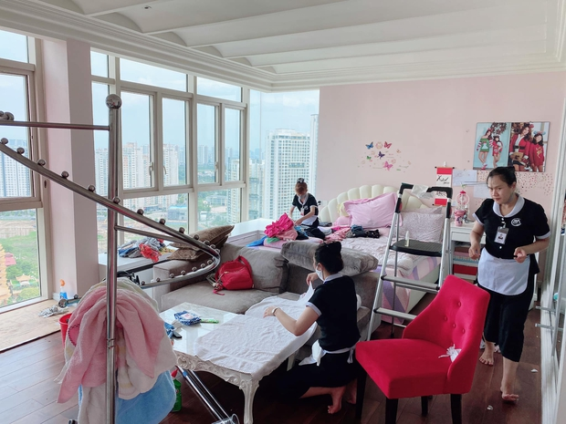 """Thăm penthouse của Trương Ngọc Ánh: Đơn giản nhưng cực sang, phòng của con gái """"max"""" xinh, view đẹp khỏi cãi - Ảnh 5."""