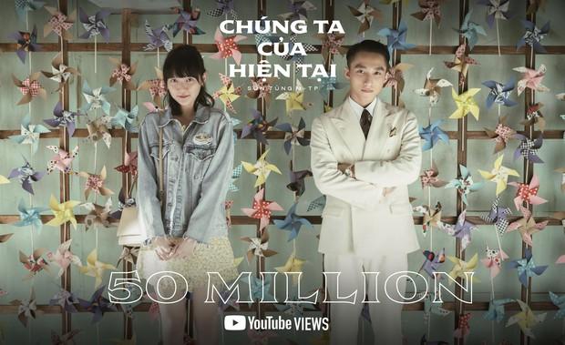 Sau 20 ngày, MV comeback của Sơn Tùng M-TP cán mốc 50 triệu view nhưng thời gian giữ top 1 trending vẫn bại trận trước Jack - Ảnh 3.