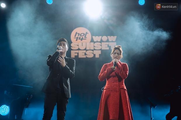Chiều hoàng hôn nghe Thuỳ Chi hát, Jack hoà giọng cùng fan bên bờ biển và những khoảnh khắc chỉ có tại HOT14 WOW Sunset Fest - Ảnh 12.