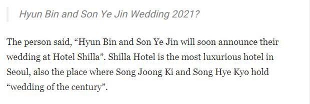 Mật báo Kbiz: Son Ye Jin - Hyun Bin cưới gấp, Rosé bị tố ngạo mạn, Red Velvet tiếp tục có biến nhưng chưa căng bằng couple BTS - TWICE - Ảnh 12.