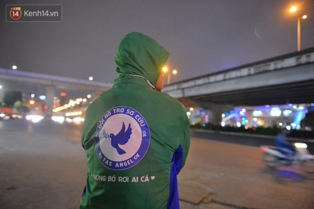 Câu chuyện về đội thiên thần cứu hộ giúp đỡ hàng nghìn người gặp nạn trên đường phố Hà Nội: Rét mấy cũng trực cứu người! - Ảnh 3.