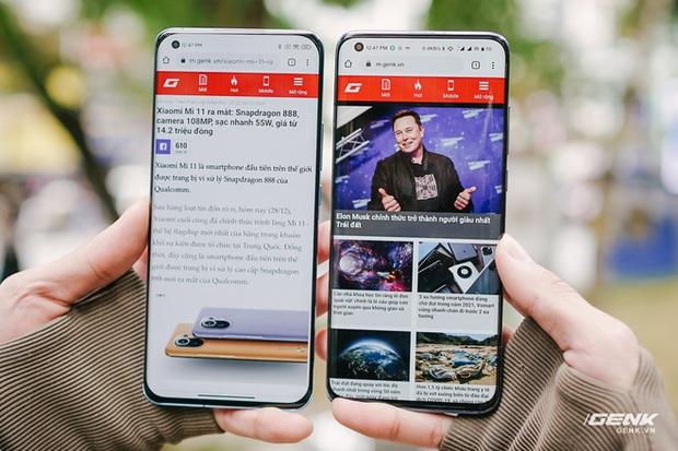 Trên tay Xiaomi Mi 11 tại Việt Nam: Smartphone đầu tiên với chip Snapdragon 888, giá 16 triệu đồng - Ảnh 15.