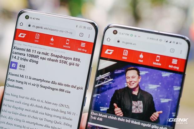 Trên tay Xiaomi Mi 11 tại Việt Nam: Smartphone đầu tiên với chip Snapdragon 888, giá 16 triệu đồng - Ảnh 16.