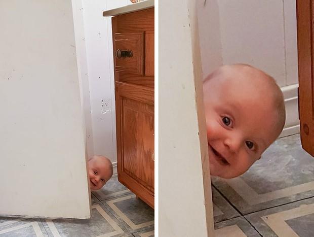 Loạt hình ảnh cực hài hước chỉ những người sống cùng con nít mới hiểu, đúng là chơi với lũ trẻ liền thấy mình được trở về tuổi thơ - Ảnh 1.