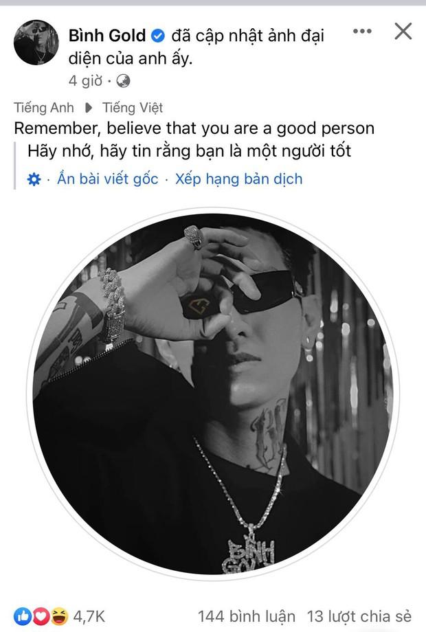 Bị VTV chỉ trích MV dung tục, Bình Gold ẩn ý khẳng định mình là người tốt? - Ảnh 2.