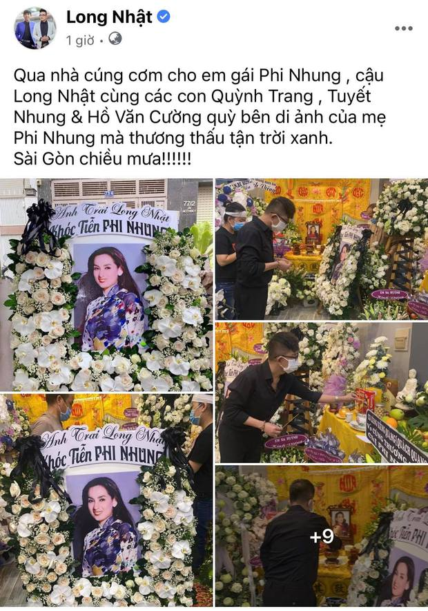 Lễ viếng ca sĩ Phi Nhung tại nhà riêng ngày 1/10: Long Nhật đau lòng dâng hương tiễn biệt, Hồ Văn Cường buồn bã quỳ bên di ảnh mẹ nuôi - Ảnh 2.