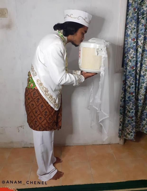 Kết hôn với nồi cơm điện do đáp ứng tiêu chuẩn trắng, tròn, biết nấu ăn, 4 ngày sau phải li dị vì ngấy - Ảnh 2.