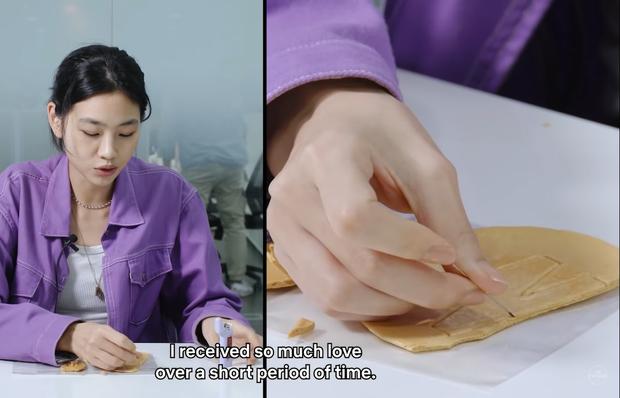 Dàn sao Squid Game căng thẳng chơi tách kẹo ngoài đời thực, đoán xem ai tạch đầu tiên? - Ảnh 2.