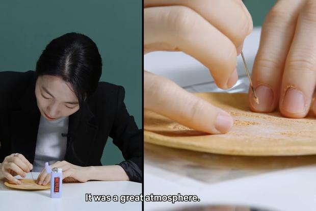 Dàn sao Squid Game căng thẳng chơi tách kẹo ngoài đời thực, đoán xem ai tạch đầu tiên? - Ảnh 6.