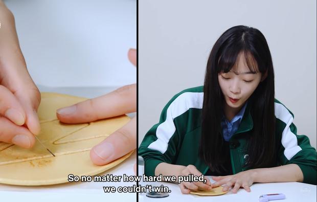 Dàn sao Squid Game căng thẳng chơi tách kẹo ngoài đời thực, đoán xem ai tạch đầu tiên? - Ảnh 7.