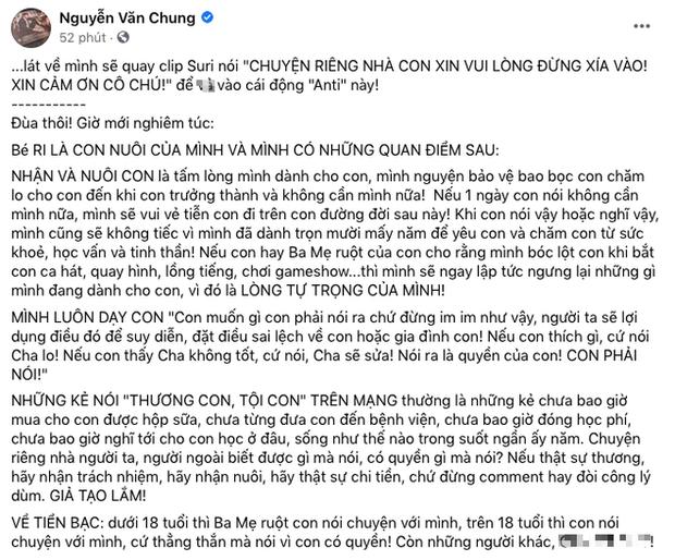 Biến mới: NS Nguyễn Văn Chung bị tố quỵt 70 triệu tiền thưởng và cát-xê của con gái nuôi, chính chủ bức xúc lên tiếng - Ảnh 2.