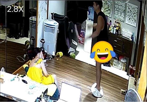 Chồng 1 nữ ca sĩ nhảy dây đến tụt quần, bà xã trích xuất luôn camera đăng lên mạng khiến netizen cười xỉu - Ảnh 4.