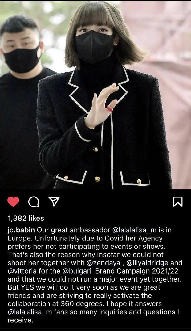 Gần 6 triệu tweet đòi công bằng của fan BLACKPINK không công cốc, YG đã cho Lisa làm việc và có lịch trình mới nhất tại Ý? - Ảnh 4.