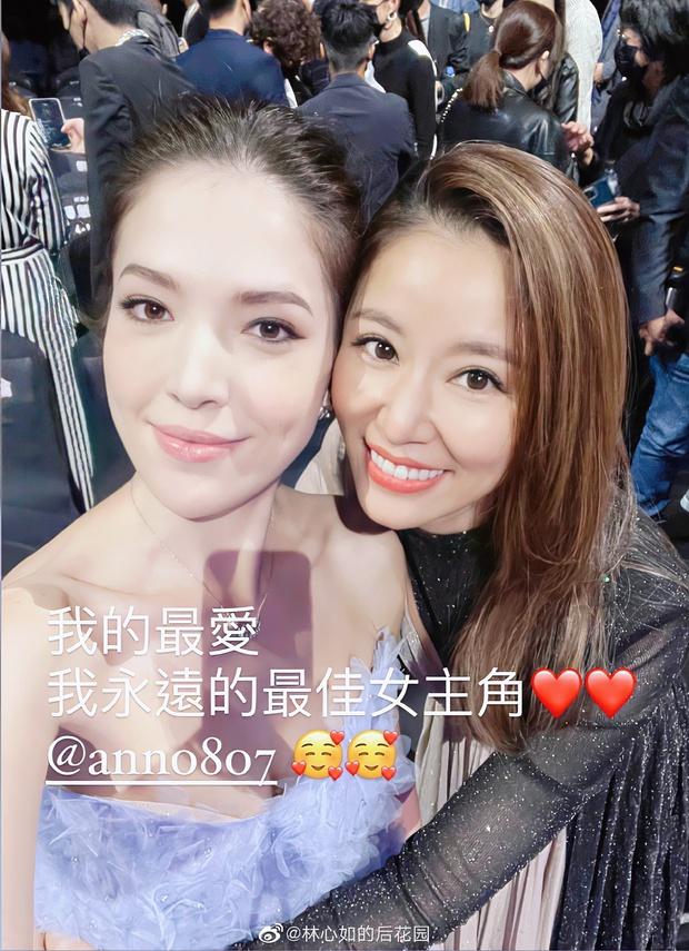 Hoảng hồn với gương mặt nhăn nheo, lộ rõ dấu hiệu lão hoá của Lâm Tâm Như, ảnh selfie tự chỉnh sửa khác xa 1 trời 1 vực - Ảnh 4.
