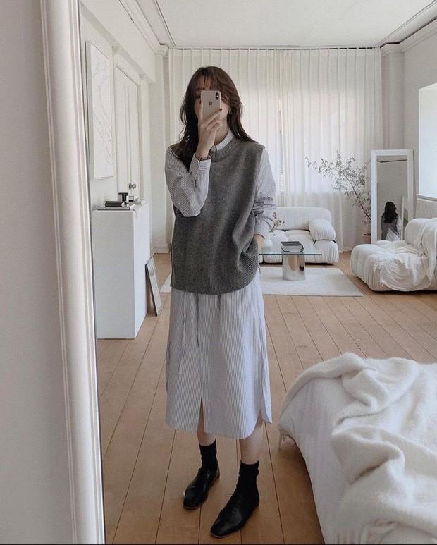 Chân không thon dài vẫn có vài cách khắc phục để trông bạn sang, xịn như gái Hàn đó - Ảnh 2.