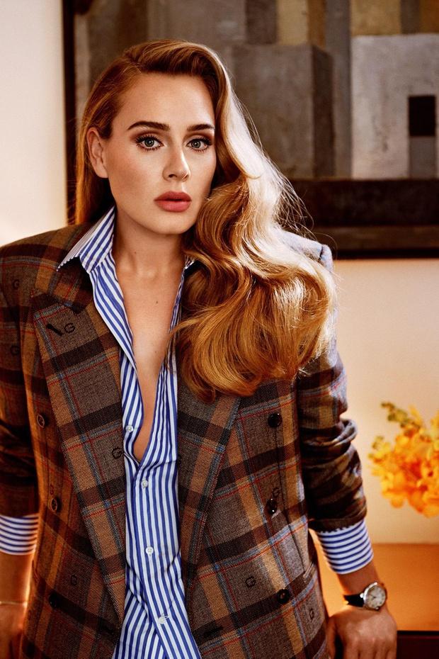 Bóc trần mặt mộc của Adele hậu giảm 45kg: Da mặt căng mịn, visual đẹp xuất sắc lột xác át cả khuyết điểm vùng mắt - Ảnh 9.