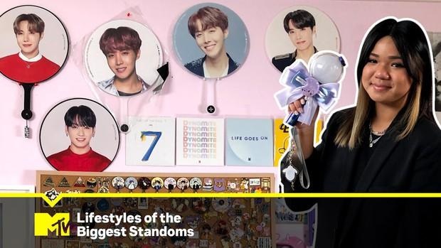Đẳng cấp fangirl gốc Việt: Thích BTS từ năm 11 tuổi, đã tiêu 1,1 tỷ đồng trong 7 năm vì idol, được MTV làm hẳn phóng sự - Ảnh 1.