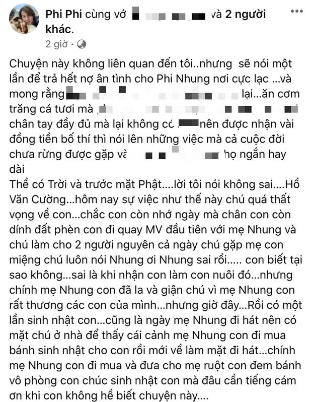 Hồ Văn Cường, con phải bảo vệ người đã nuôi mình, chứ không phải ăn cơm nhà mẹ mà im lặng nhìn mẹ mình bị bu lại xâu xé - Ảnh 2.