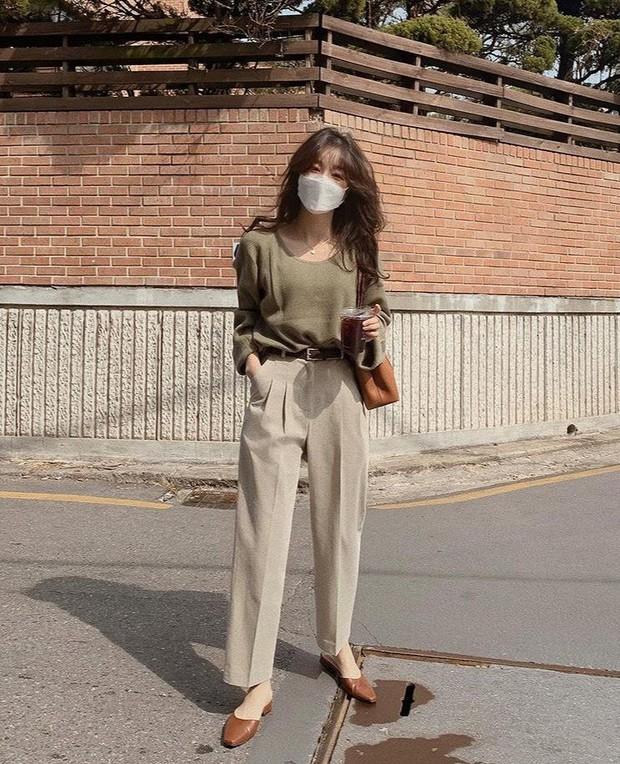 Chân không thon dài vẫn có vài cách khắc phục để trông bạn sang, xịn như gái Hàn đó - Ảnh 4.