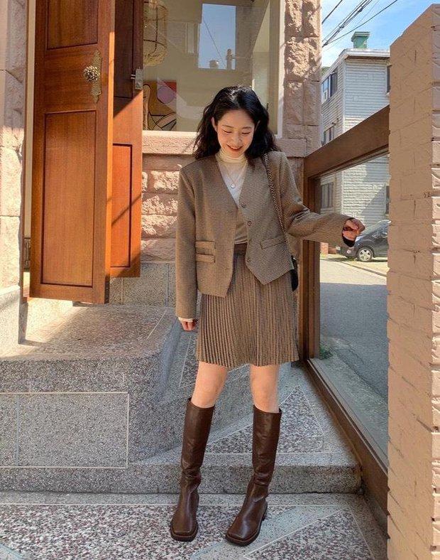 Chân không thon dài vẫn có vài cách khắc phục để trông bạn sang, xịn như gái Hàn đó - Ảnh 5.