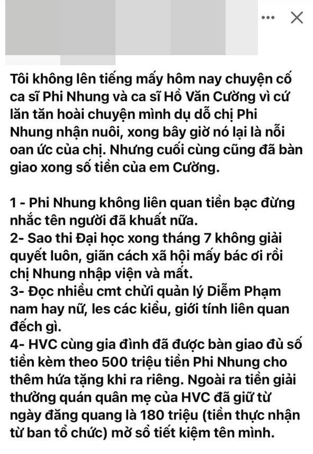Người kết nối Phi Nhung với Hồ Văn Cường năm xưa hối tiếc vì đã khuyên nữ ca sĩ nhận nuôi Quán quân Vietnam Idol Kids - Ảnh 5.