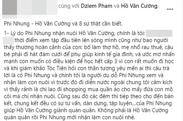 Người kết nối Phi Nhung với Hồ Văn Cường năm xưa hối tiếc vì đã khuyên nữ ca sĩ nhận nuôi Quán quân Vietnam Idol Kids - Ảnh 4.