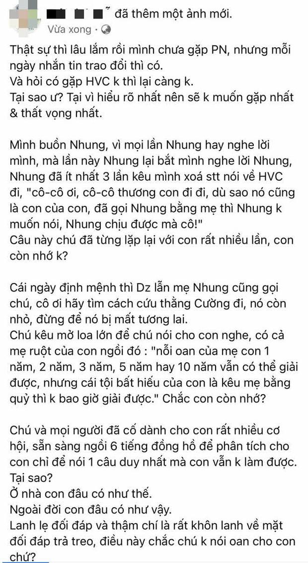 1 người trong ekip Phi Nhung tiết lộ sốc về Hồ Văn Cường, thậm chí từng gọi mẹ là quỷ? - Ảnh 2.