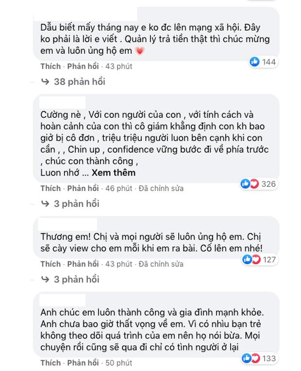 Netizen bàn luận về status của Hồ Văn Cường: Người động viên ủng hộ, kẻ nghi ngờ không phải do nam ca sĩ đích thân viết? - Ảnh 4.