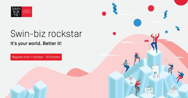 Swinburne Việt Nam phát động cuộc thi ý tưởng kinh doanh Swin-Biz-Rockstar - Ảnh 1.