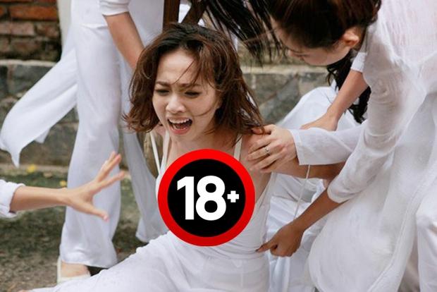 Nữ sinh bị đánh hội đồng, xé áo lộ cả ngực rồi quay clip: Đây chính là cảnh bạo lực học đường ám ảnh nhất phim Việt! - Ảnh 4.