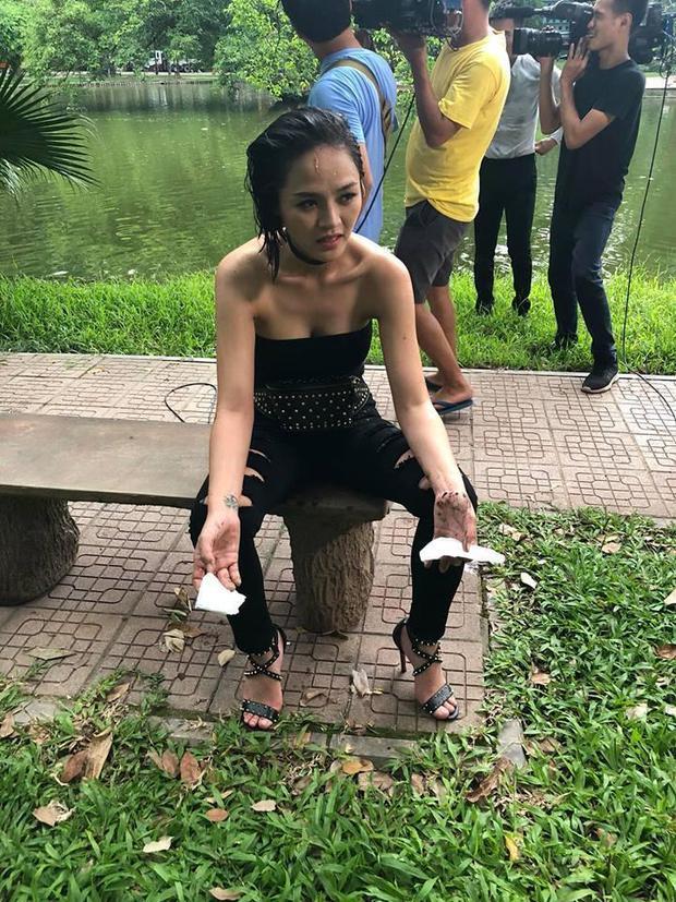Chính thất mặc gì khi đánh ghen tiểu tam trên phim Việt? - Ảnh 6.