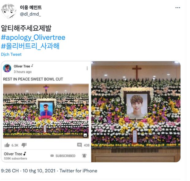"""Phẫn nộ đỉnh điểm: Chế ảnh tang lễ idol quá cố Jonghyun (SHINee) """"câu like"""" cho tour, nam ca sĩ bị """"ném đá"""" kịch liệt - Ảnh 7."""