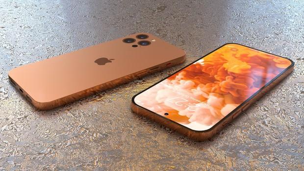 Hé lộ concept iPhone 14 với màu sắc mới, thiết kế mới! - Ảnh 1.